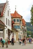 немецкое село Стоковая Фотография