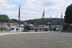 Немецкое угловое Deutsches Eck стоковые фото