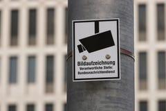 Немецкое федеральное bundesnachrichtendienst разума в Берлине Германии стоковое фото