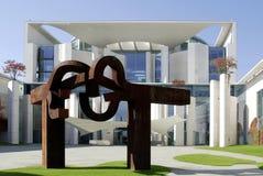 Немецкое федеральное ведомство канцлера в Берлине стоковые изображения