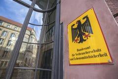 Немецкое федеральное ведомство для продовольственной безопасности защиты потребителя и стоковые фото