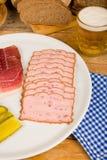 Немецкое холодное мясо стоковые изображения rf