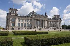Немецкое Reichstag в Берлин Стоковые Фото