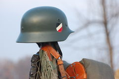 немецкое wwii воиск шлема Стоковые Фото