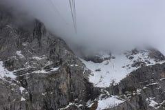 Немец Альпы во время лета Стоковые Фотографии RF