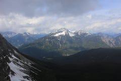 Немец Альпы во время лета Стоковая Фотография RF