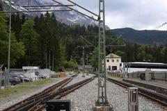 Немец Альпы во время лета Стоковое фото RF