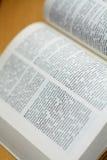 немец словаря Стоковое Фото