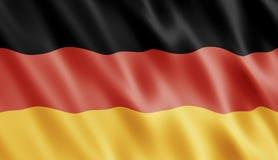 немец флага Стоковая Фотография RF
