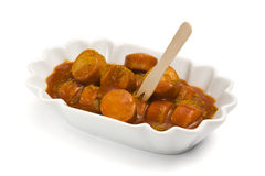 немец currywurst Стоковые Фотографии RF