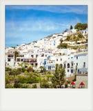 Немедленное фото белого городка, Frigiliana Стоковая Фотография RF