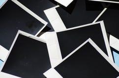 Немедленное фото на покрашенной предпосылке текстура Стоковое Изображение