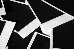 Немедленное фото на покрашенной предпосылке Стоковые Фотографии RF