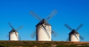 Немногая из ветрянок Стоковое Фото