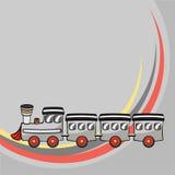 Немногая смешной поезд Стоковое Изображение RF