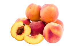 немногие персики Стоковое Изображение RF