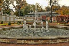 Немногие фонтаны Стоковая Фотография