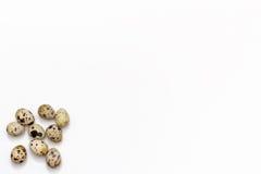 Немногие яичка триперсток на белой предпосылке Стоковые Фото