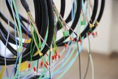 Немногий кабельное соединение Стоковые Фото