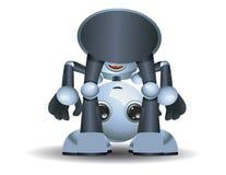 Немногое младенец робота играя вокруг стоковое фото