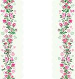 Немногое розовый розовый орнамент стоковое изображение rf