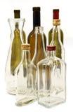 Бутылки для вина и духов. Стоковые Изображения