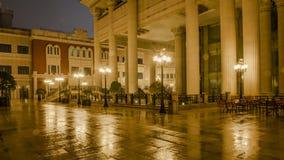 Ненастная дорога Рекы Jinsha ночи Стоковая Фотография
