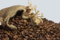 Ненасытный вкус кофе, который нужно начать день Стоковые Фотографии RF