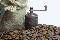 Ненасытный вкус кофе, который нужно начать день Стоковое фото RF
