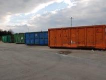 Ненужные контейнеры Стоковые Фотографии RF