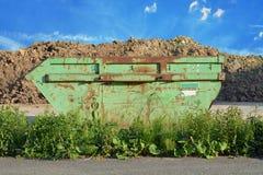 Ненужный контейнер Стоковое фото RF