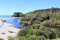 Необжитый остров Стоковое Изображение RF