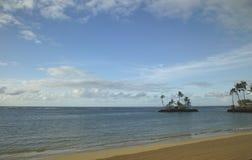 необитаемый остров Стоковое Изображение RF