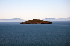 Необитаемый остров Стоковое Фото