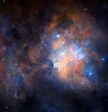 Необнаруженный космос стоковые изображения