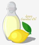необходимое масло лимона Стоковая Фотография