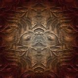 Необыкновенная абстрактная картина Ультрамодный творческий коллаж Необыкновенное художественное произведение иллюстрация штока