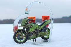 Необыкновенная влюбленность для мотоциклов стоковое изображение rf