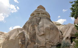 Необыкновенная горная порода, Cappadocia, Турция Стоковое Изображение