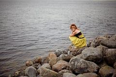 Необыкновенная девушка стоковое фото rf