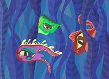 Необыкновенная жизнь подводного мира Стоковые Изображения RF