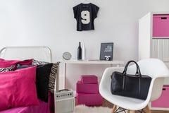 Необыкновенная комната девушки Стоковые Изображения RF
