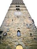 Необыкновенная колокольня Пистойя снизу Стоковое Фото