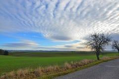 Необыкновенное небо Стоковое Фото
