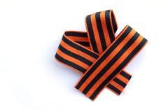 необыкновенное striped смычком Стоковое фото RF