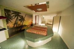 Необыкновенный гостиничный номер в Франции Стоковое Изображение