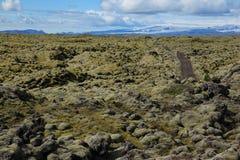 Необыкновенный исландский ландшафт Стоковое фото RF