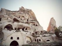 Необыкновенный дом Cappadocia, Турция Стоковая Фотография RF