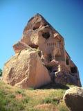 Необыкновенный дом Cappadocia, Турция Стоковое фото RF