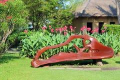Необыкновенный стенд в парке Стоковое Изображение RF